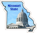 State of Missouri Magnets